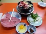 米久の牛鍋